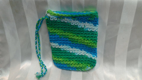 Soap Cozy - Emerald/Lime/Blue/White