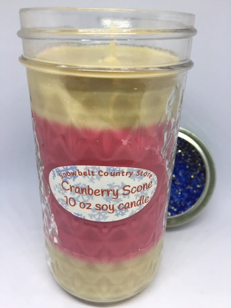 Cranberry Scone Soy candle