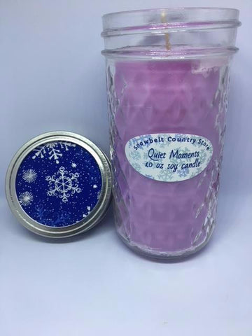 Quiet Moments Soy candle