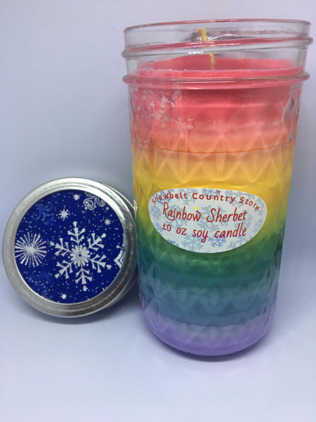 Rainbow Sherbet Soy candle