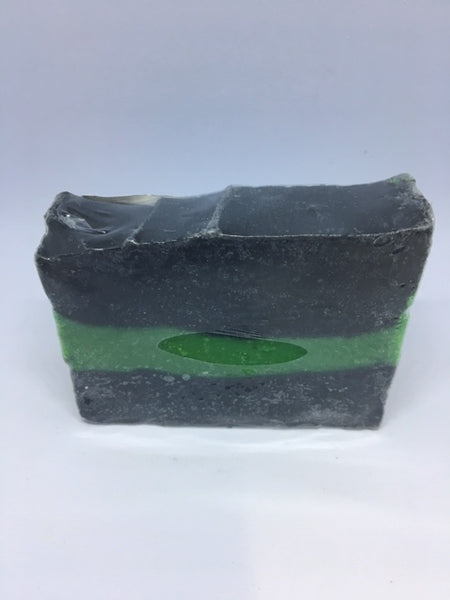 Scrubbalicious lime soap