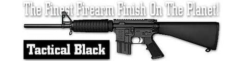 Tactical Black. Flat color. Shake N Spray DuraCoat finishing KIT.