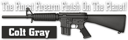 Colt Gray. Shake N Spray DuraCoat finishing KIT.