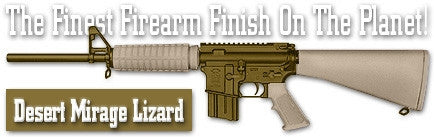 Desert Mirage Lizard. Shake N Spray DuraCoat finishing KIT.