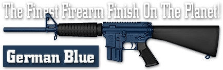 German Blue. Shake N Spray DuraCoat finishing KIT.