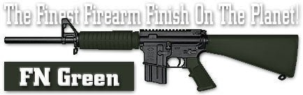 FN Green. Shake N Spray DuraCoat finishing KIT.