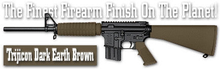 Trijicon Dark Earth Brown. Shake N Spray DuraCoat finishing KIT.