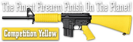 Competition Yellow. Shake N Spray DuraCoat finishing KIT.