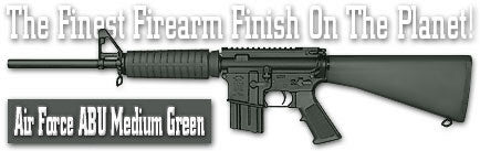 Air Force ABU Medium Green. Shake N Spray DuraCoat finishing KIT.