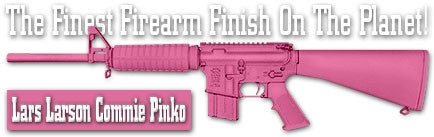 Lars Larson Commie Pinko. Shake N Spray DuraCoat finishing KIT.