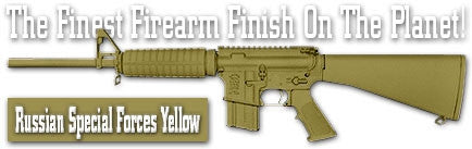 Russian Special Forces Yellow. Shake N Spray DuraCoat finishing KIT.