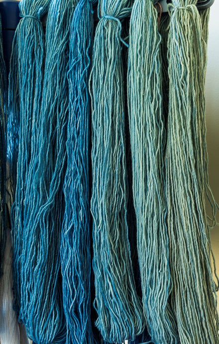 Indigo Blue is an Antidote at Sheepscot Harbor Yarns