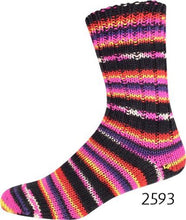 Load image into Gallery viewer, ONline Supersocke 6-ply Black Color (sport)