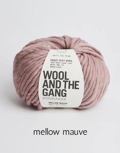 Crazy Sexy Wool by Wool and the Gang (super bulky)