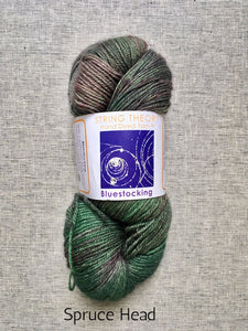 Bluestocking by String Theory (sock/fingering)