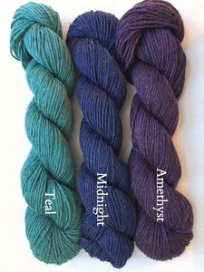 JaggerSpun 6/8 Heather (heavy worsted/aran)