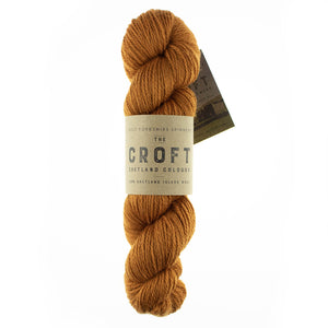 The Croft Shetland Tweed & Solid (aran)