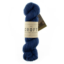 Load image into Gallery viewer, The Croft Shetland Tweed & Solid (aran)