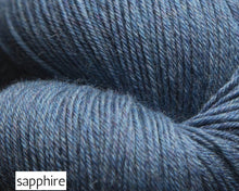 Load image into Gallery viewer, Mousam Falls Sock by Jaggerspun (fingering)