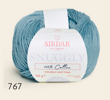 Load image into Gallery viewer, Sirdar Snuggly 100% cotton (dk)