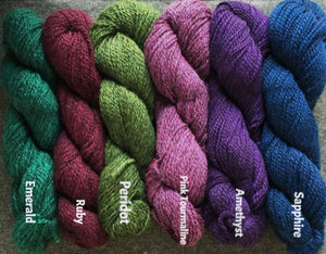 Blue Star Farm's Jewel Alpaca Yarn (dk)