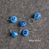 Glass Bead Stitch Markers