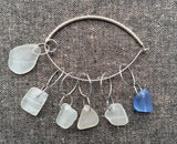 Sea Glass Stitch Markers