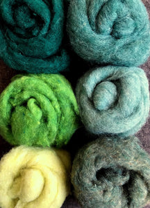Wool Roving by Bartlettyarns