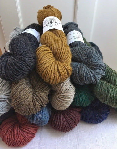 Jaggerspun's 6/8 Heather (heavy worsted/aran)