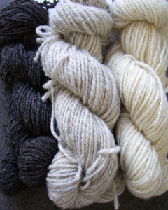 Handspun by Mulberry Marsh (heavy worsted/aran)