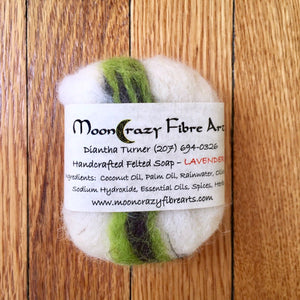 Felted Soaps by Moon Crazy