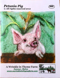 Needle Felting Kits by A Wrinkle in Thyme Farm