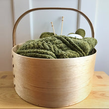 Load image into Gallery viewer, Shaker Style (Knitting or Crocheting) Basket