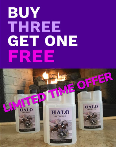 HALO - HA Equine Joint Supplement - Buy 3 Get One FREE!