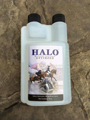 HALO - Hyaluronic Acid Liquid Equine Joint Supplement 16 oz.