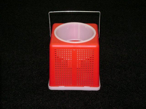 "BayShore Tackle and Outfitters:Challenge 6"" Square Plastic Cricket Bucket,Challenge Plastic Products"