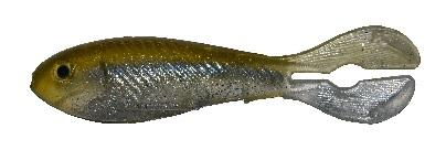 "Big Bite Real Deal Shad 5"" 3ct Light Hitch SPL"