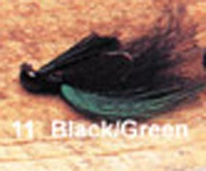 Arkie 1-4 Bucktail 6-cd Black-Green