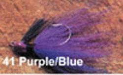 Arkie 1-4 Bucktail 6-cd Purple-Blue