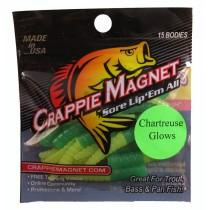 "Leland Crappie Magnet 1.5"" 15ct Wizard Glow"