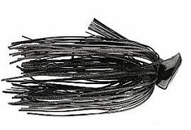 Buckeye Flat Top Finesse Jig 1-4oz Black
