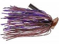 Buckeye Flat Top Finesse Jig 3-8oz Cinnamon Purple
