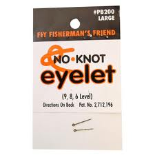 Kipper No-Knot Eyelets Large 24-Card