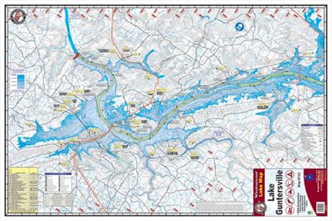 Kingfisher Lake Map Guntersville