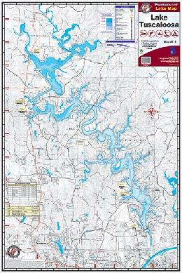 Kingfisher Lake Map Tuscaloosa