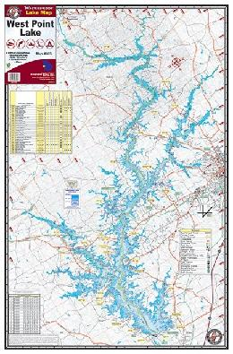 BayShore Tackle and Outfitters:Kingfisher Lake Map West Point,Burch Fishing Tackle