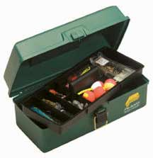 Plano 1-Tray Tackle Box Green