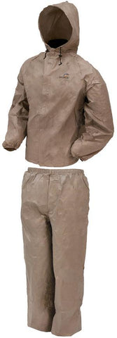 Frogg Toggs DriDucks Rainsuit-Khaki Small