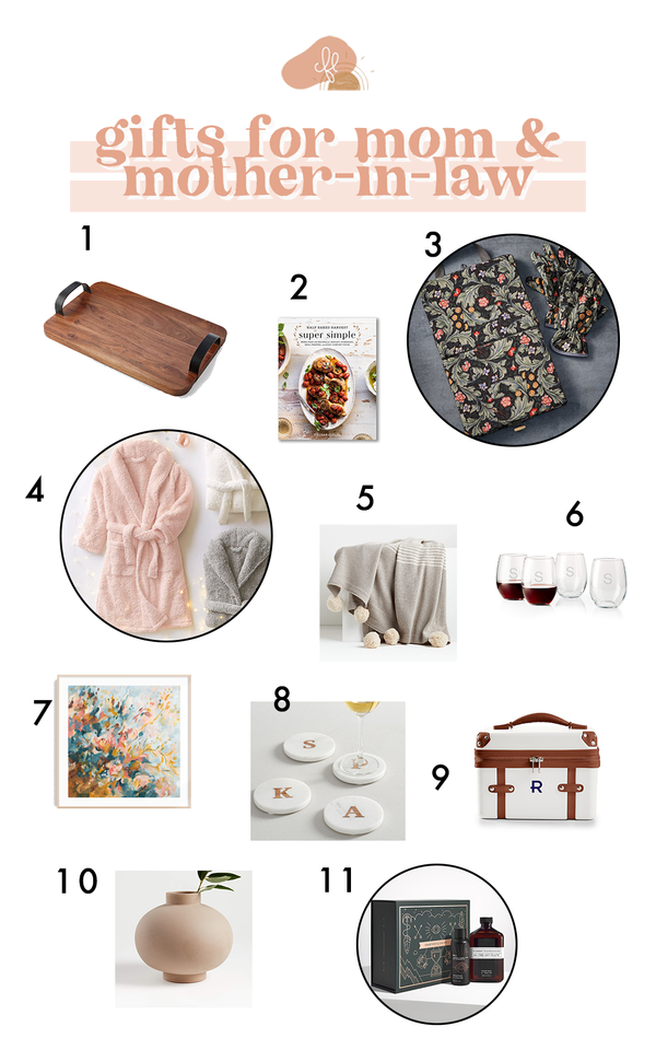 2020 Gift Guide - Gifts for Mom/Mother-In-Law