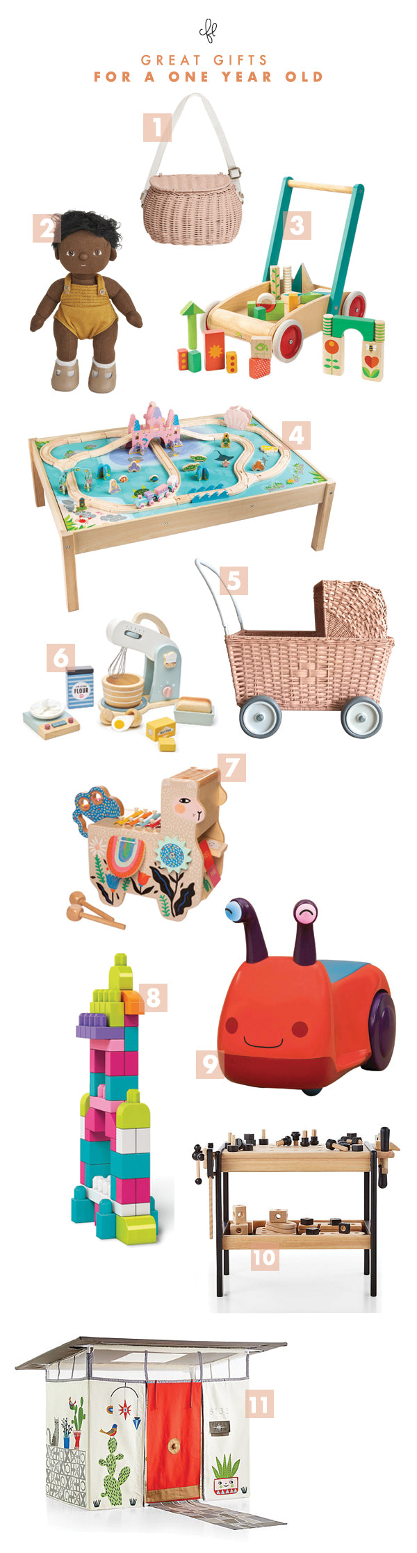Gift Guide for One-Year Olds